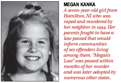 Meagans Law Sex Offenders